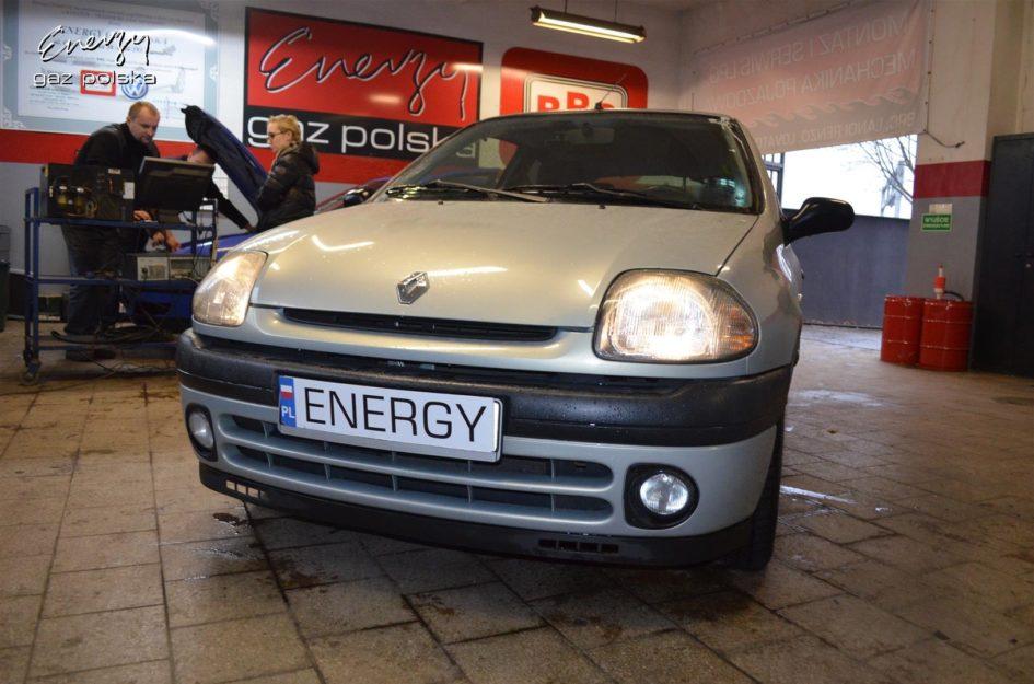 Renault Clio 1.4 1999r LPG