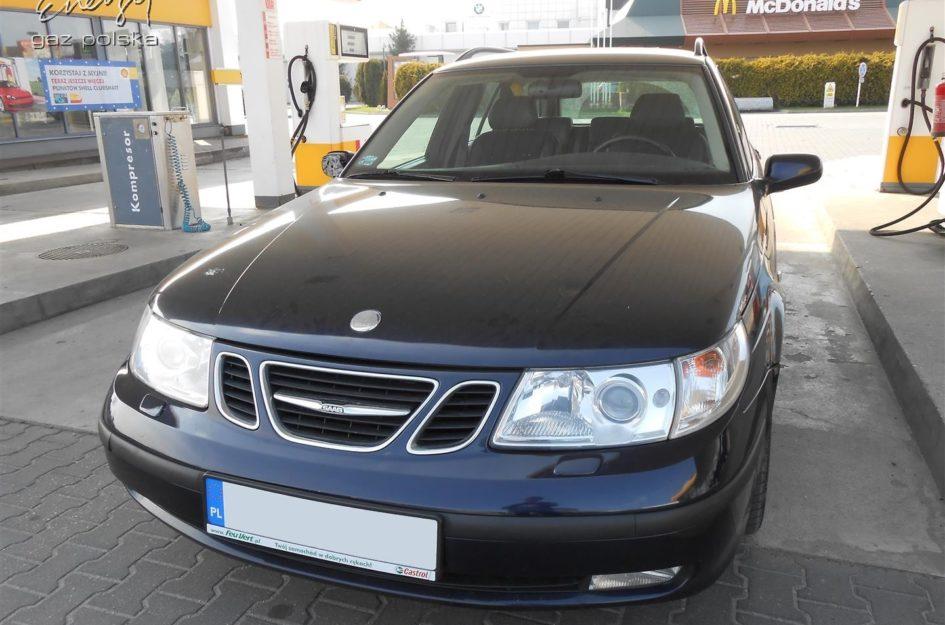 Saab 9-5 2.0T 2002r LPG