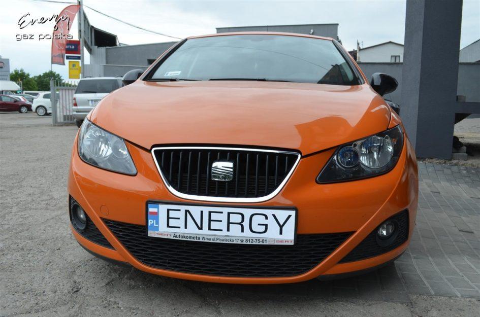 Seat Ibiza 1.4 2009r LPG