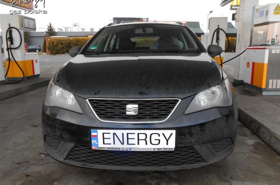 Seat Ibiza 1.4 2012r LPG