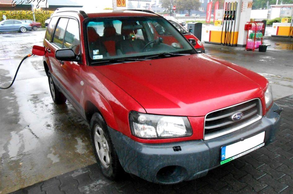 Subaru Forester 2.0 2002r LPG