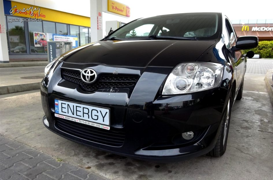 Toyota Auris 1.6 2009r LPG