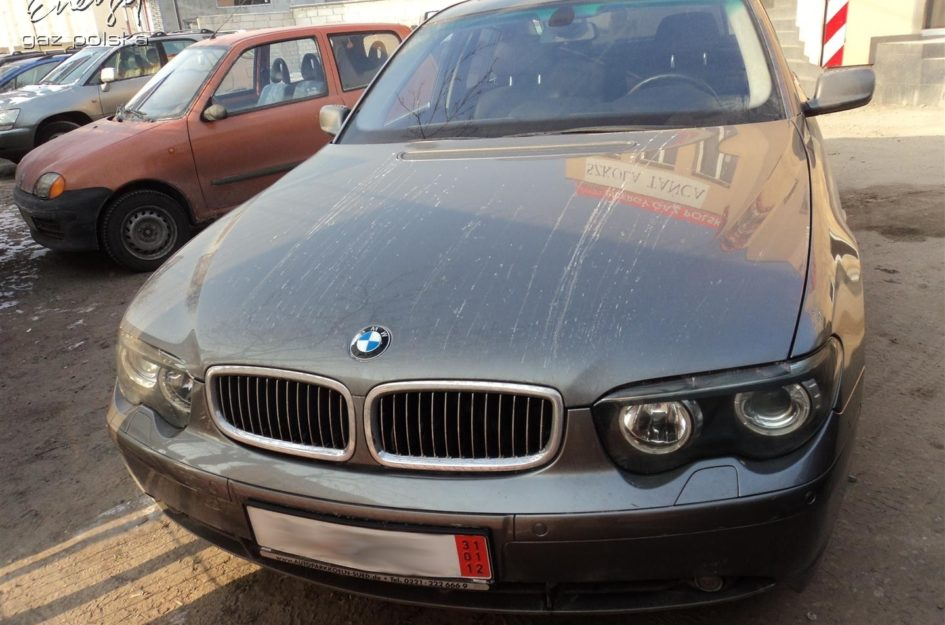 BMW 745i V8 2005r LPG