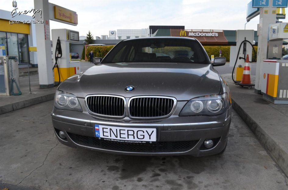 BMW 750 4.8 V8 2006r LPG