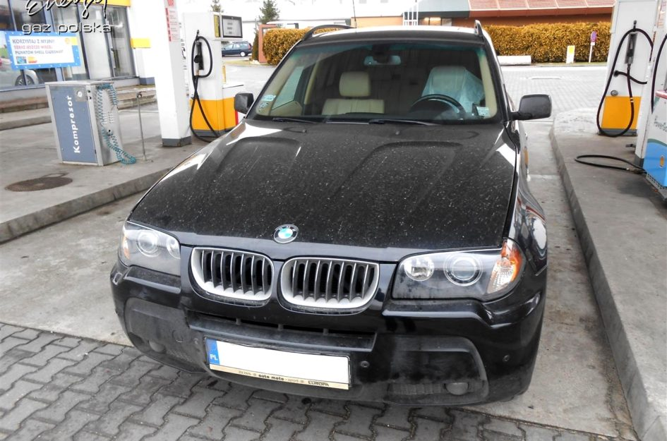 BMW X3 3.0 2006r LPG