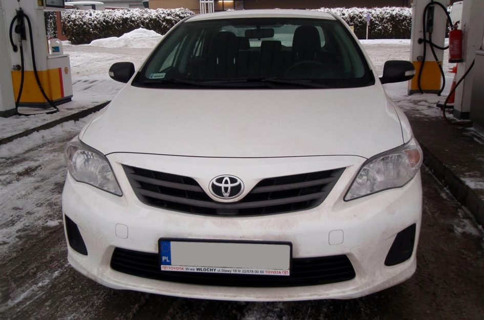 Toyota Corolla 1.6 2012r LPG