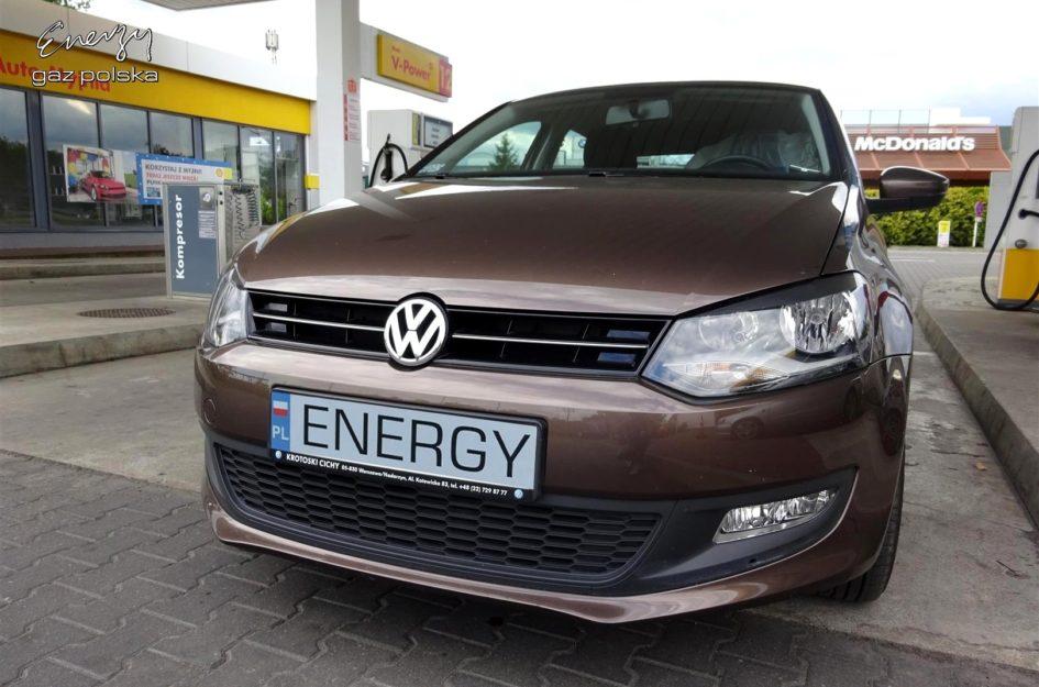 Volkswagen Polo 1.4 2012r LPG