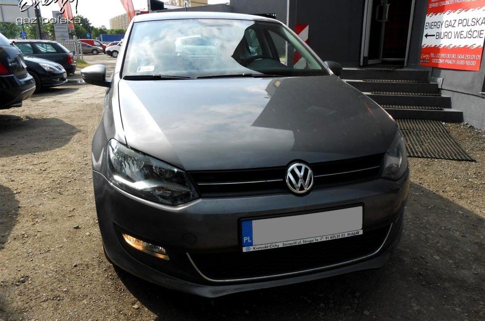 Volkswagen Polo 1.4 2011r LPG