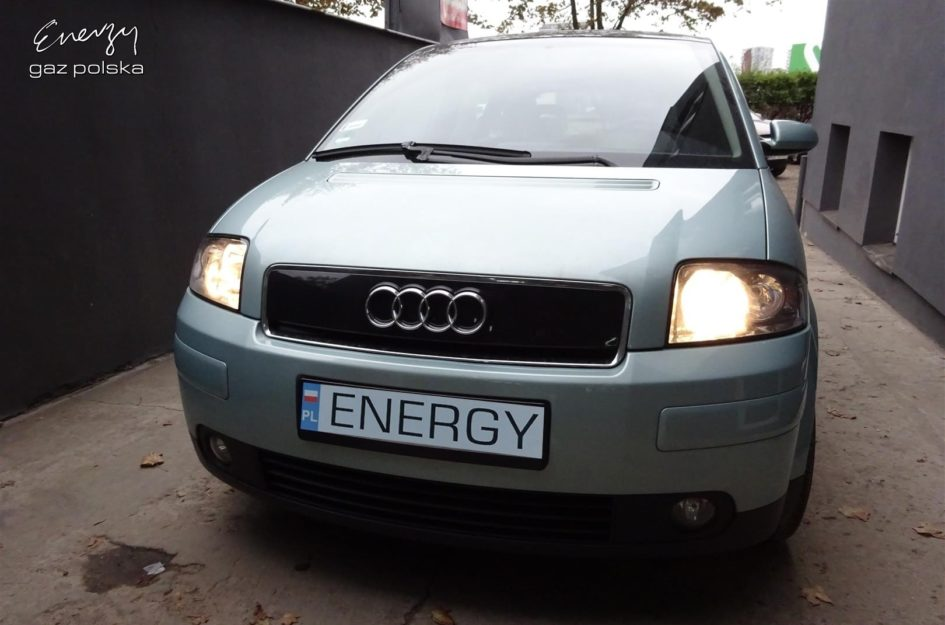 Audi A2 1.4 2002r LPG