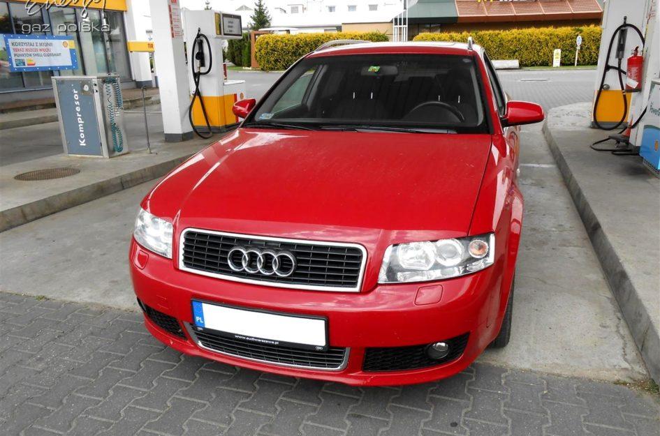 Audi A4 3.0 V6 2002r LPG