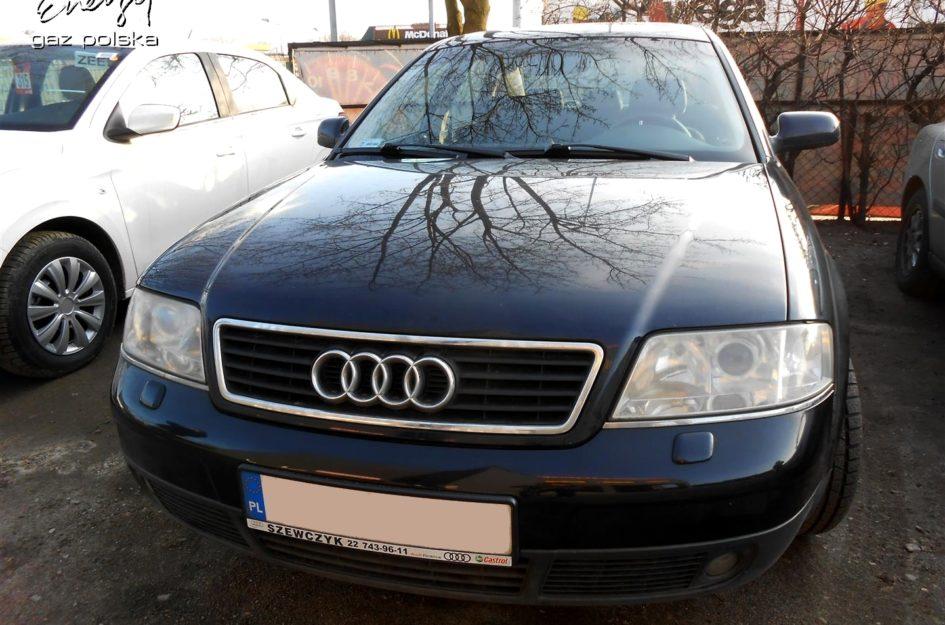 Audi A6 2.7 BiTurbo 1999r LPG
