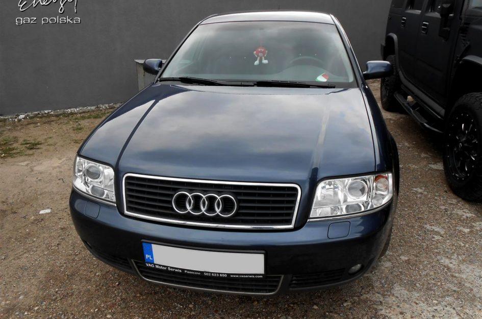 Audi A6 3.0 2001r LPG