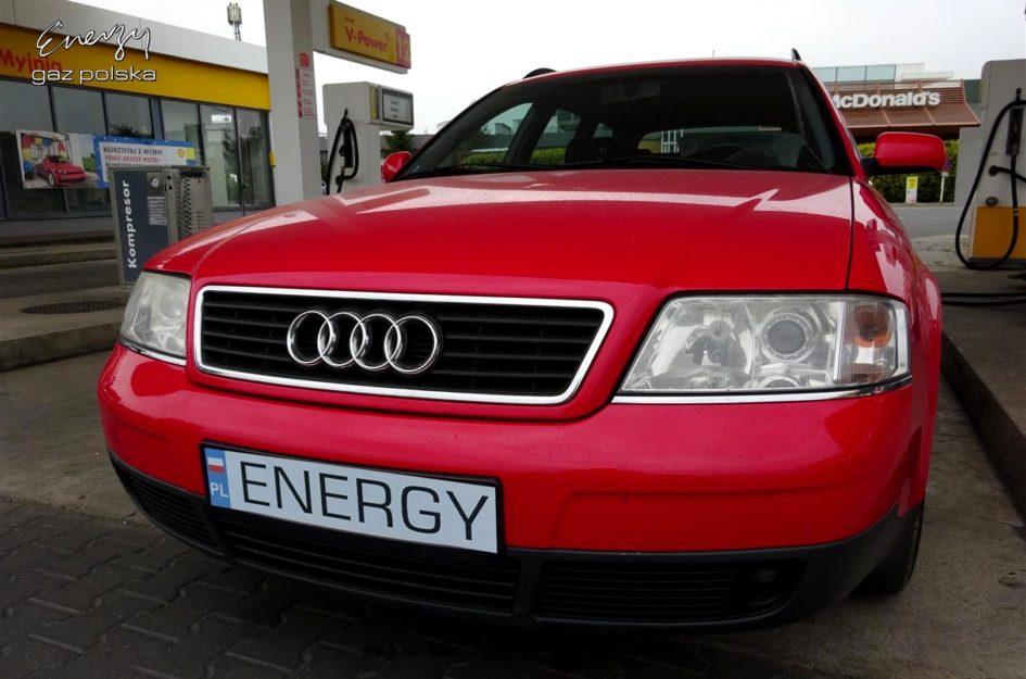 Audi A6 1.8T 1998r LPG
