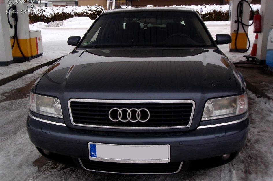 Audi A8 3.7 2001r LPG