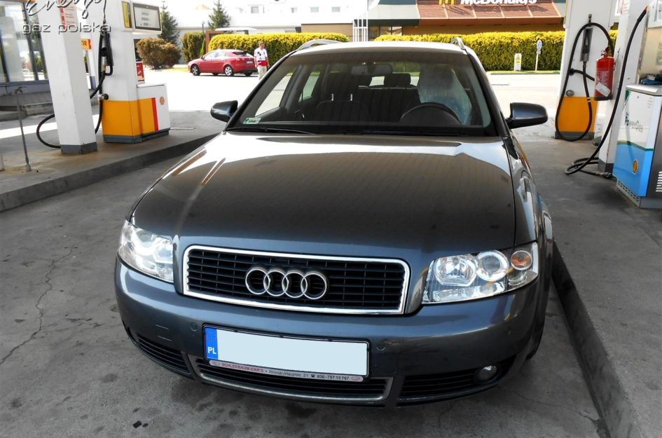 Audi A8 1.8T 2002r LPG