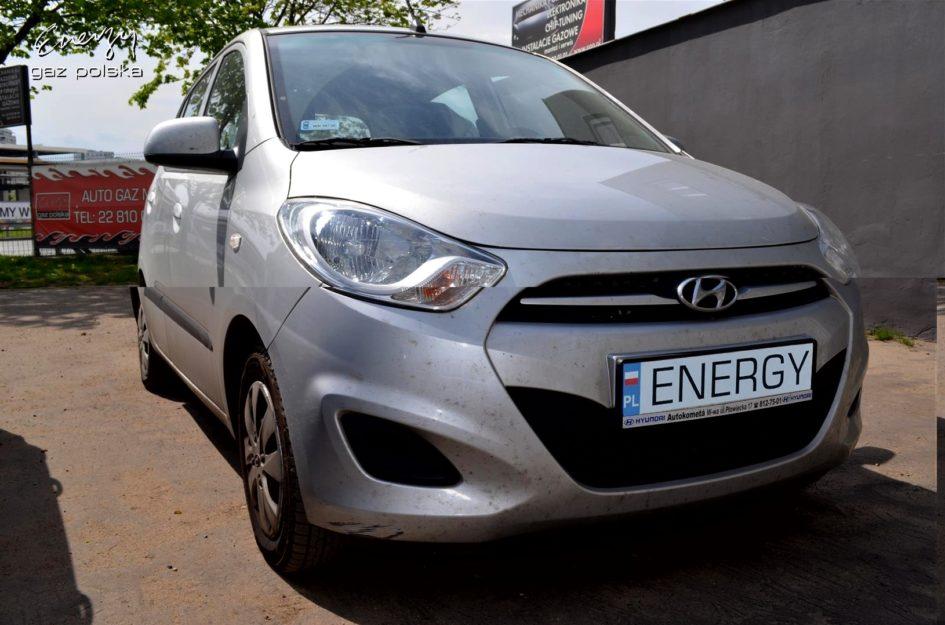 Hyundai i10 1.1 2012r LPG
