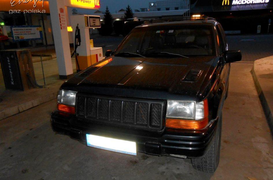 Jeep Grand Cherokee 5.9 1998r LPG