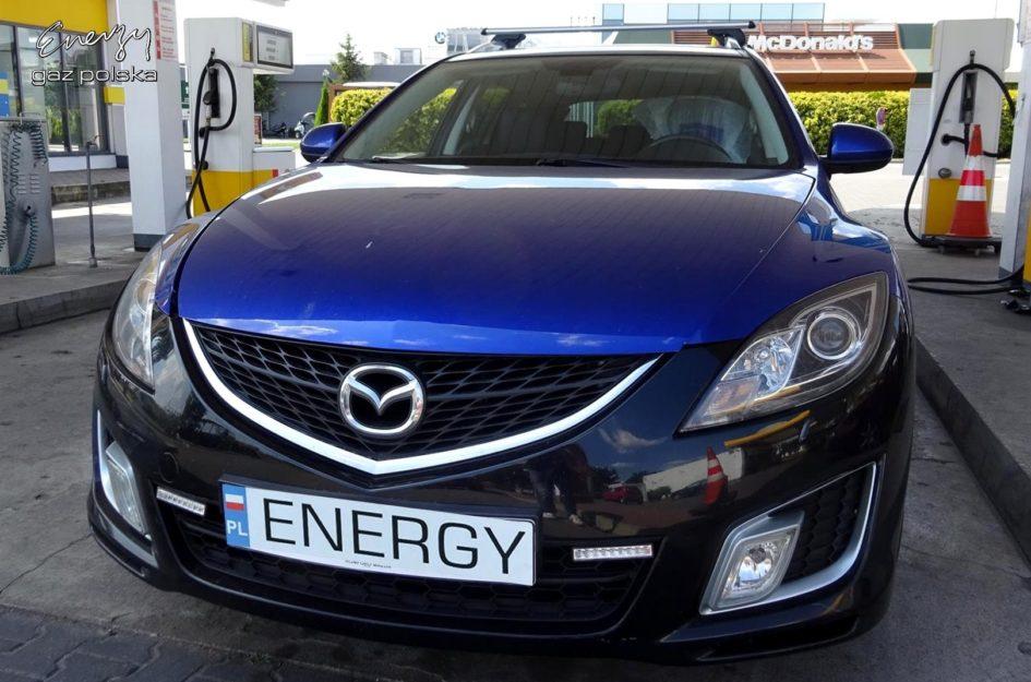 Mazda 6 2.5 2009r LPG