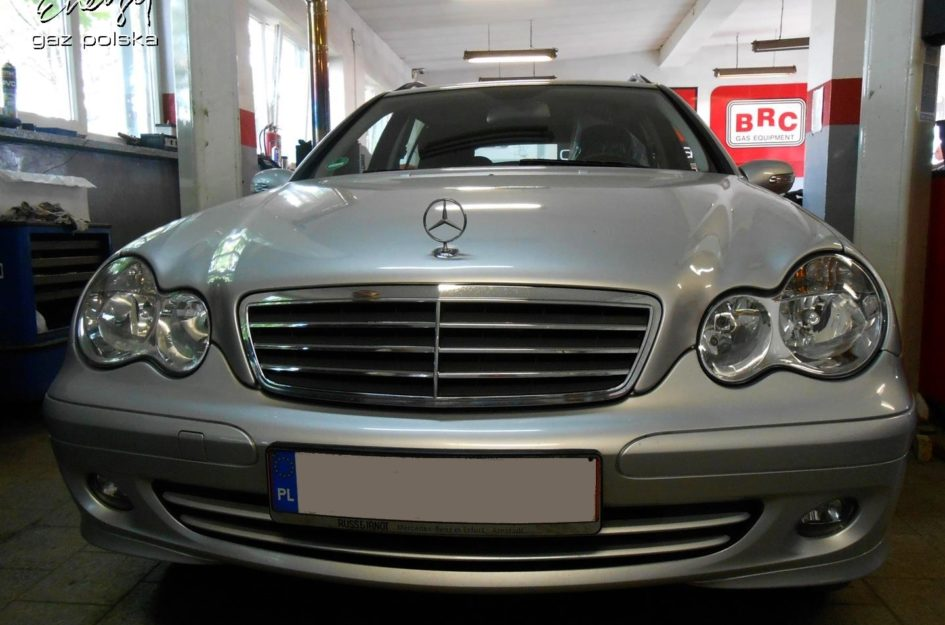 Mercedes C Klasa 1.8 2006r LPG