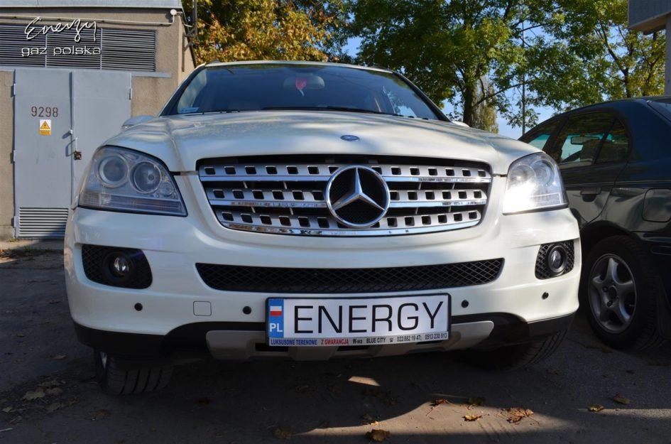 Mercedes ML 350 3.5 V6 2008r LPG