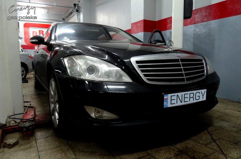 Mercedes S550 5.5 V8 2006r LPG