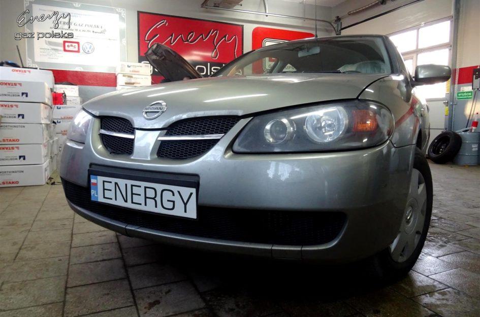 Nissan Almera 1.5 2006r LPG