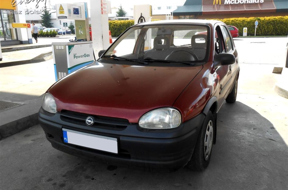 Opel Corsa 1.2 1993r LPG