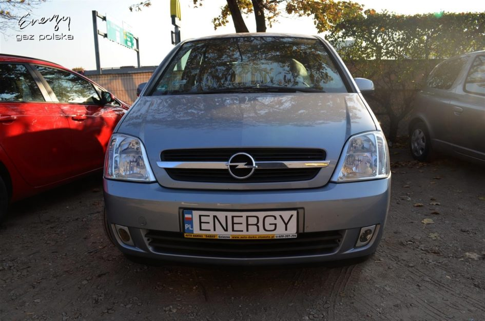 Opel Meriva 1.6 2003r LPG