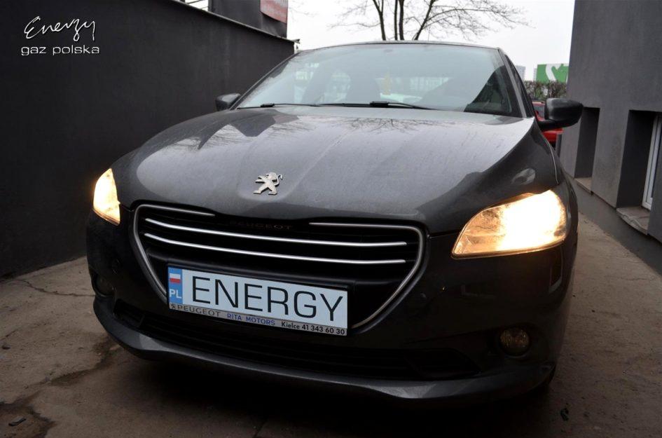 Peugeot 301 1.2 2014r LPG
