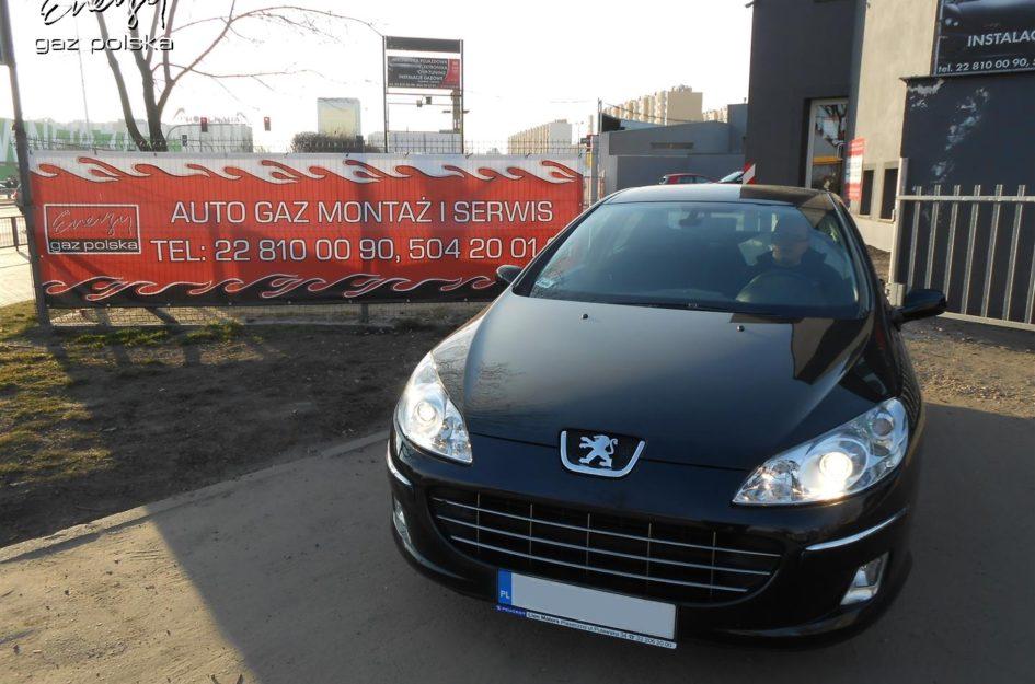 Peugeot 407 1.8 2008r LPG