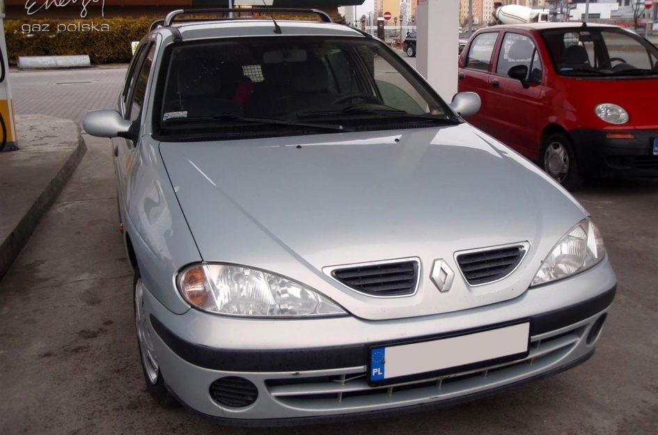Renault Megane 1.4 2001r LPG