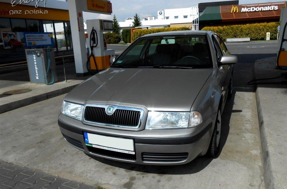 Skoda Octavia 1.6 2006r LPG
