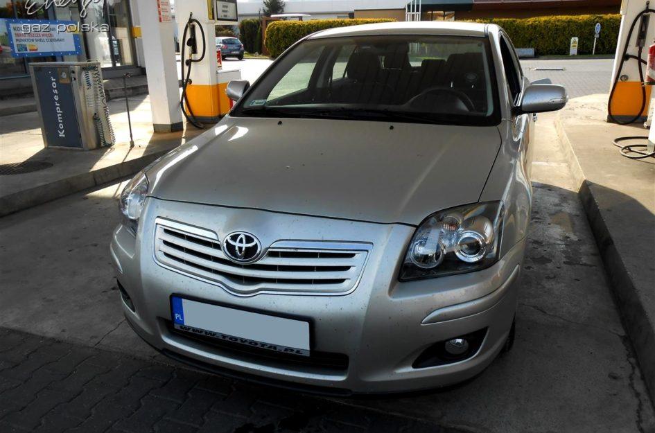 Toyota Avensis 1.6 2008r LPG