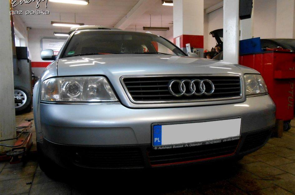 Audi A6 1.8T 1999r LPG