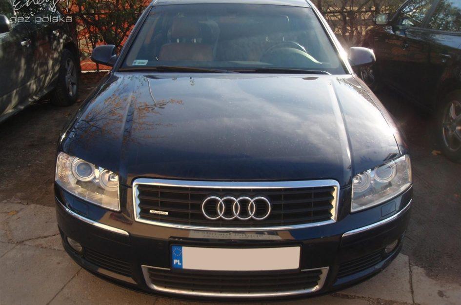 Audi A8 4.2 V8 2003r LPG