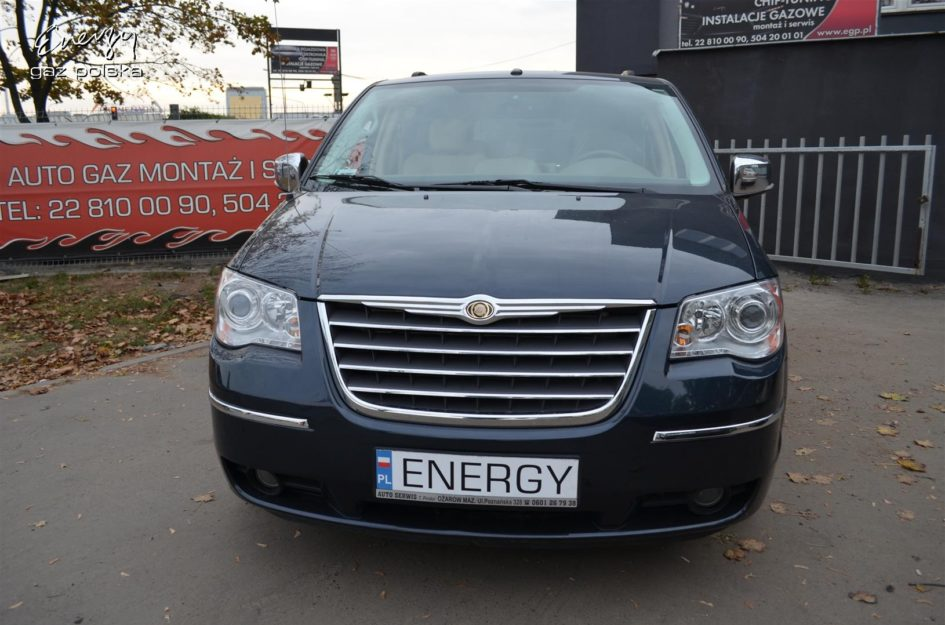 Chrysler Town and Country 4.0 V6 2008r LPG
