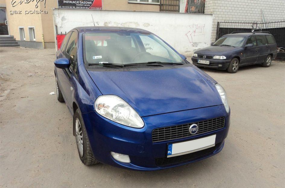 Fiat Grande Punto 1.4 2006r LPG