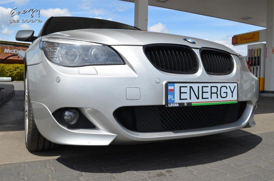BMW 545i 4.4 V8 2006r LPG