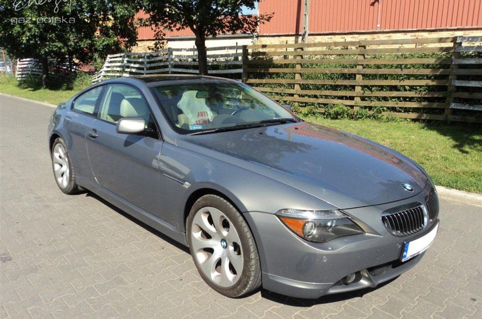 BMW 645i 4.4 2005r LPG