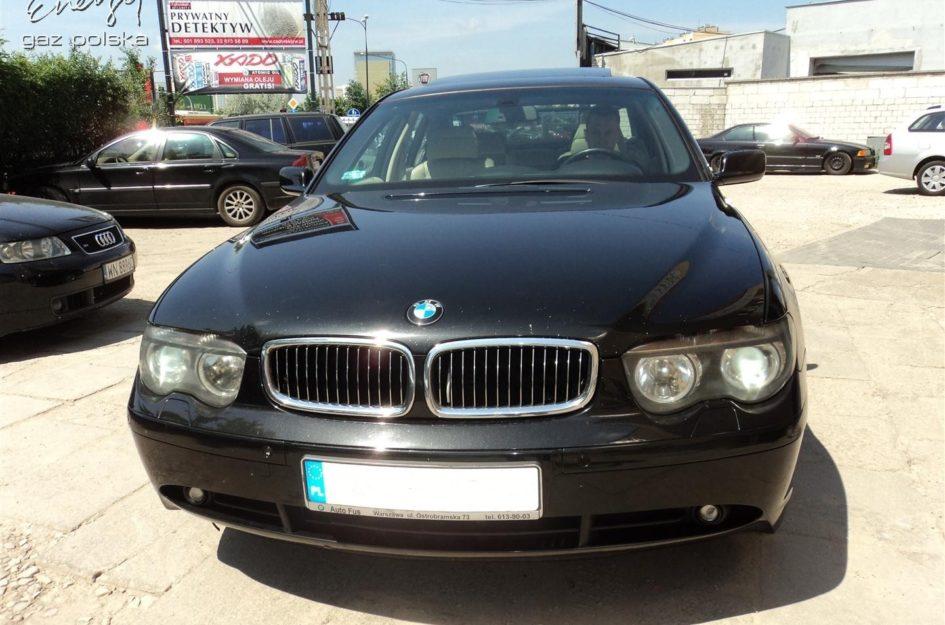 BMW 735i 3.6 2003r LPG