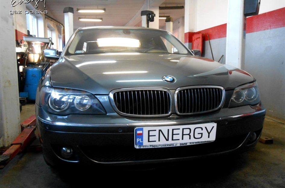 BMW 750i 4.8 V8 2006r LPG