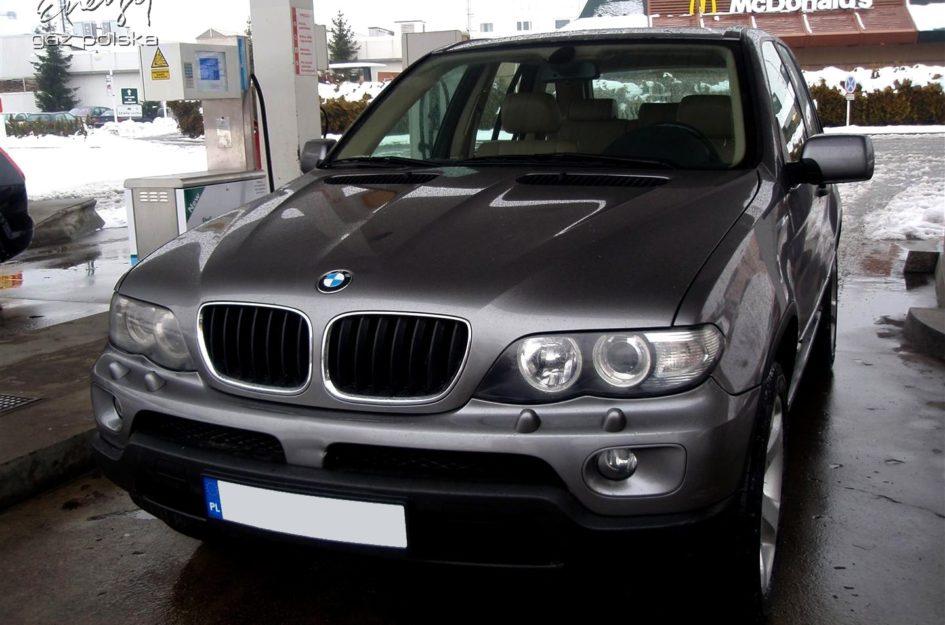 BMW X5 3.0 2003r LPG