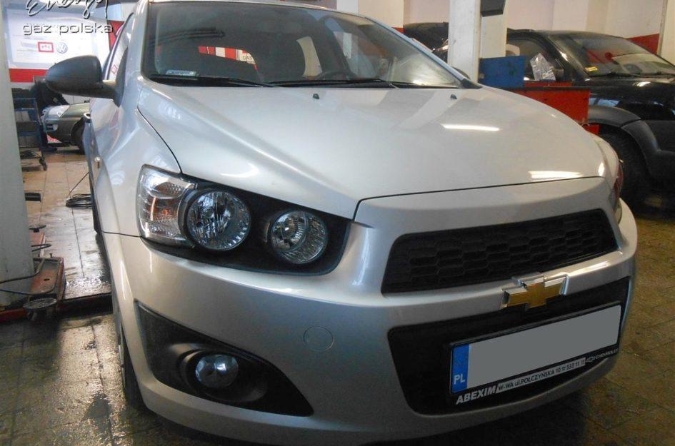Chevrolet Aveo 1.2 2012r LPG