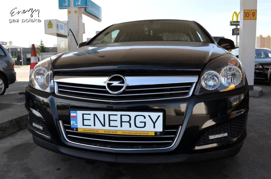 Opel Astra 1.6 2012r LPG