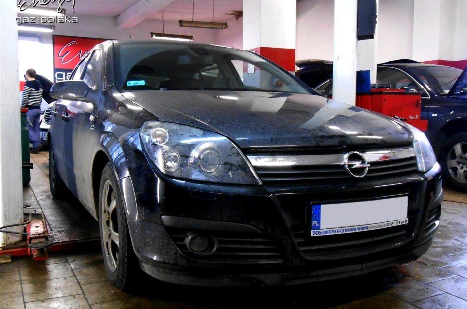 Opel Astra 2.0 Turbo 2005r LPG