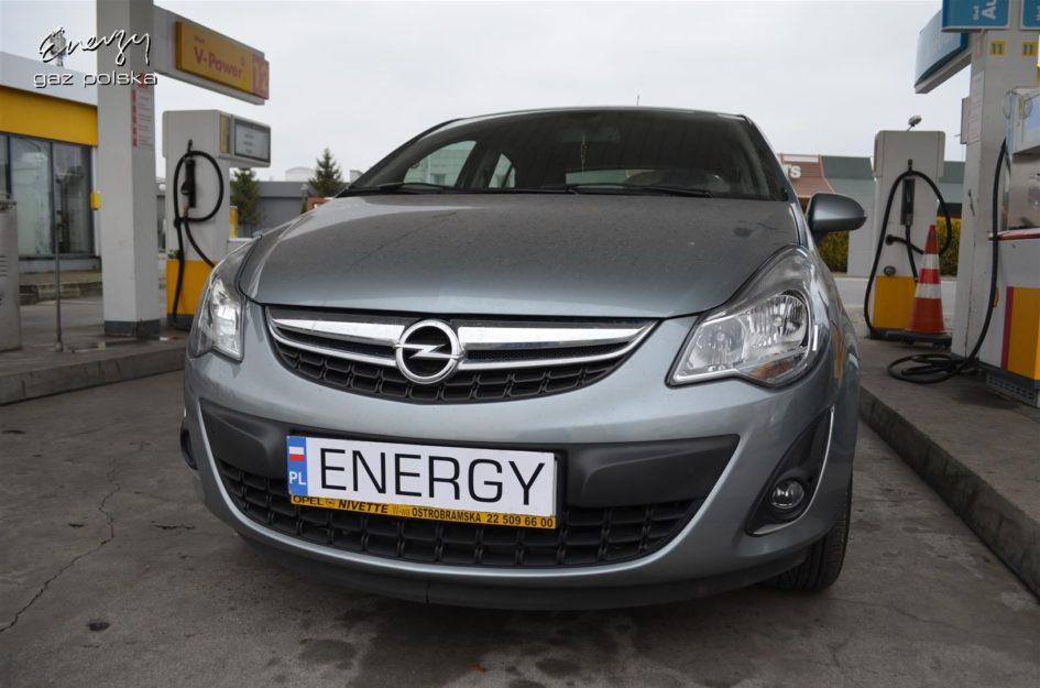 Opel Corsa 1.4 2011r LPG