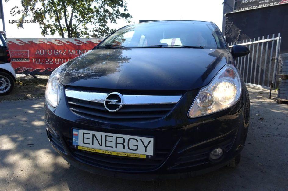 Opel Corsa 1.4 2009r LPG