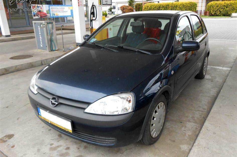 Opel Corsa 1.4 2001r LPG