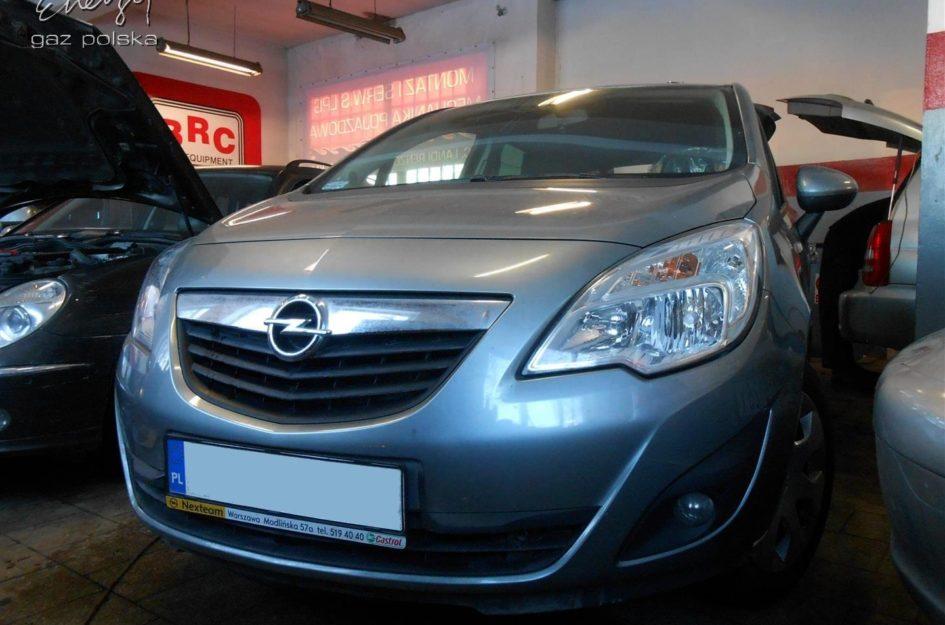 Opel Meriva 1.4 2011r LPG