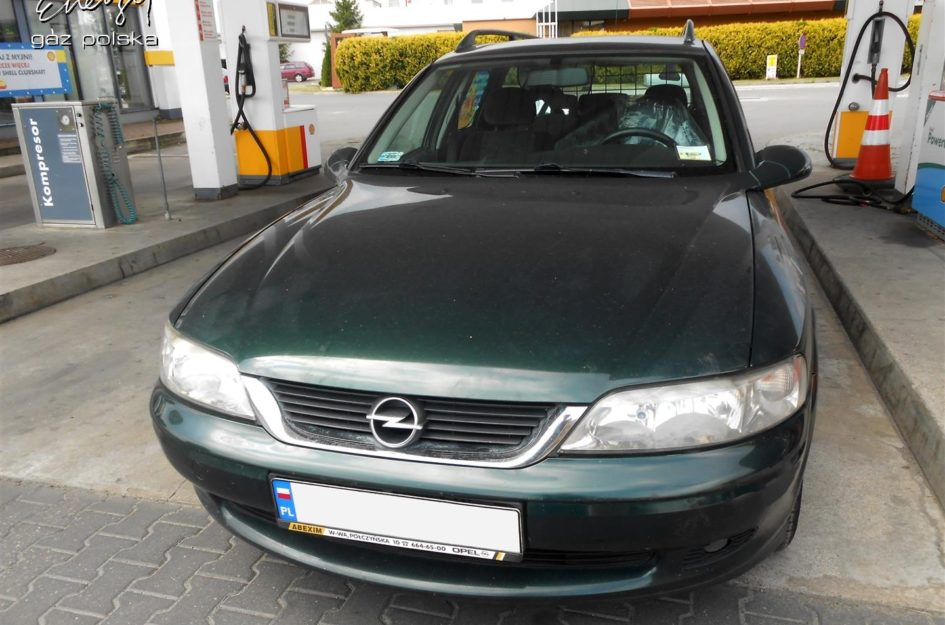 Opel Vectra 1.8 2000r LPG